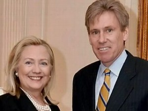 Christopher Stevens and Hillary Clinton