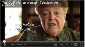 NC Claims GOP war on women